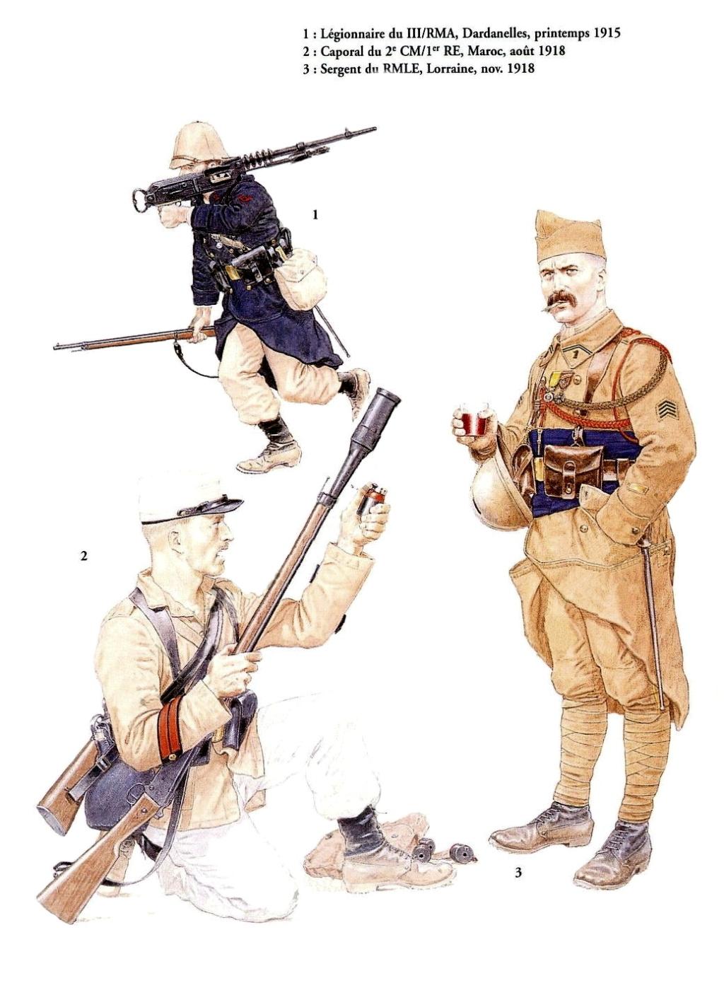Planches uniformes Armée Française.... Legion19