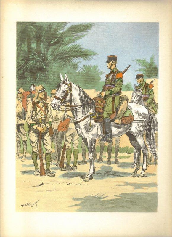 Planches uniformes Armée Française.... Legion20
