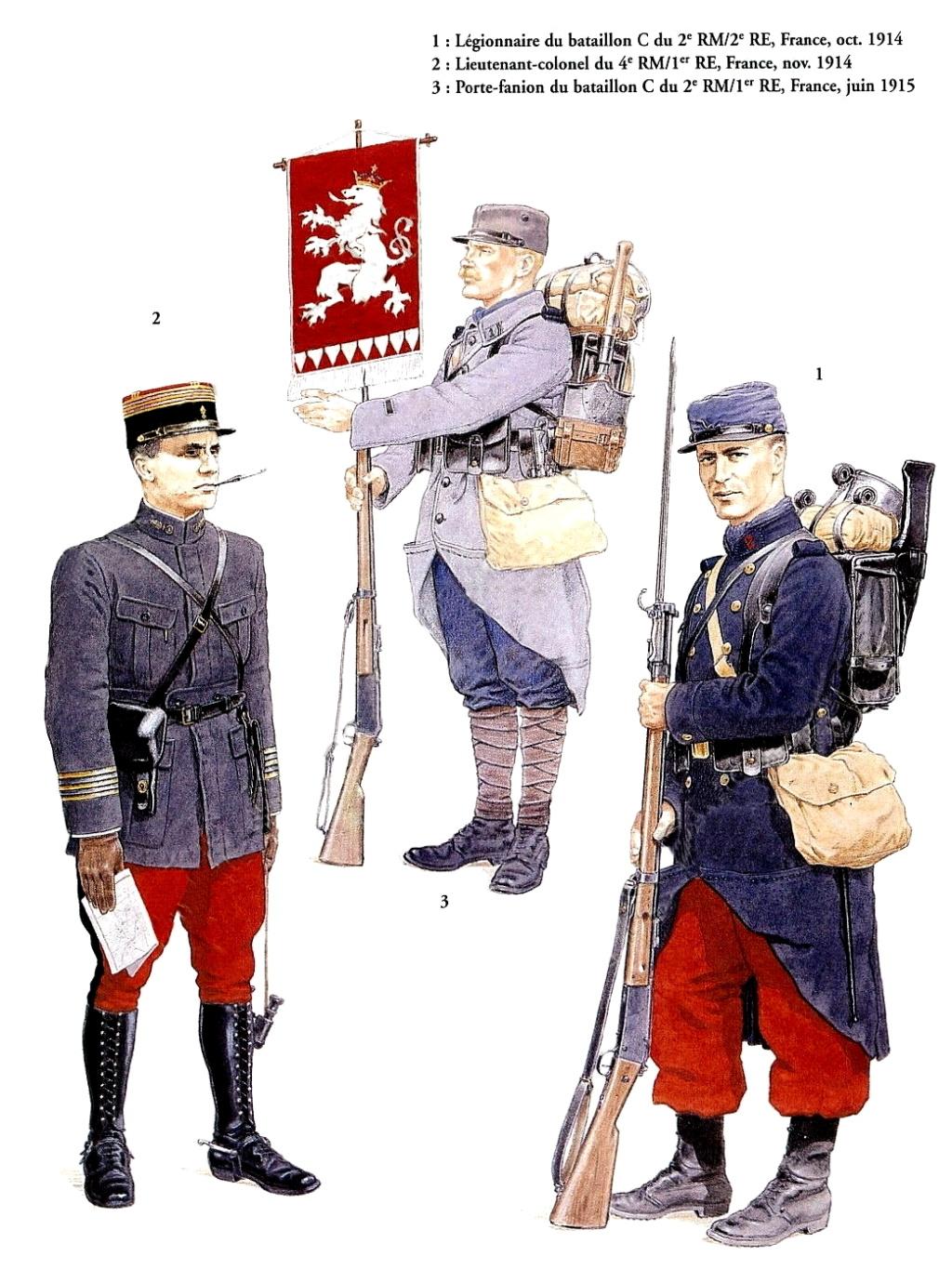 Planches uniformes Armée Française.... Legion21