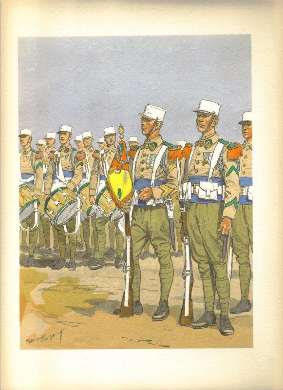 Planches uniformes Armée Française.... Legion23
