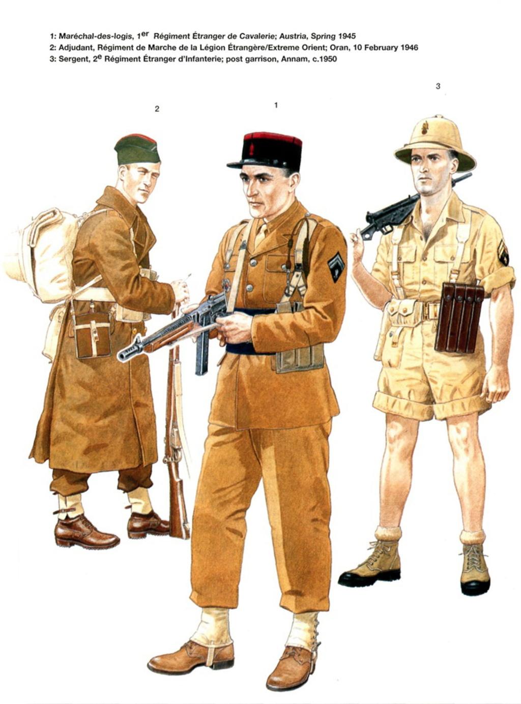 Planches uniformes Armée Française.... Legion29