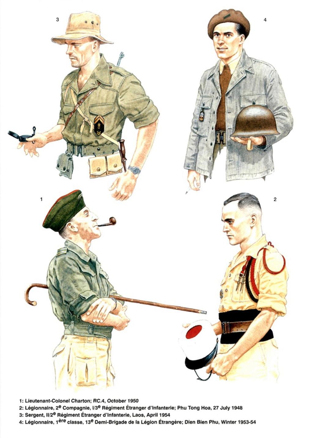 Planches uniformes Armée Française.... Legion30