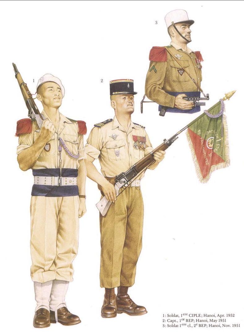 Planches uniformes Armée Française.... Legion31