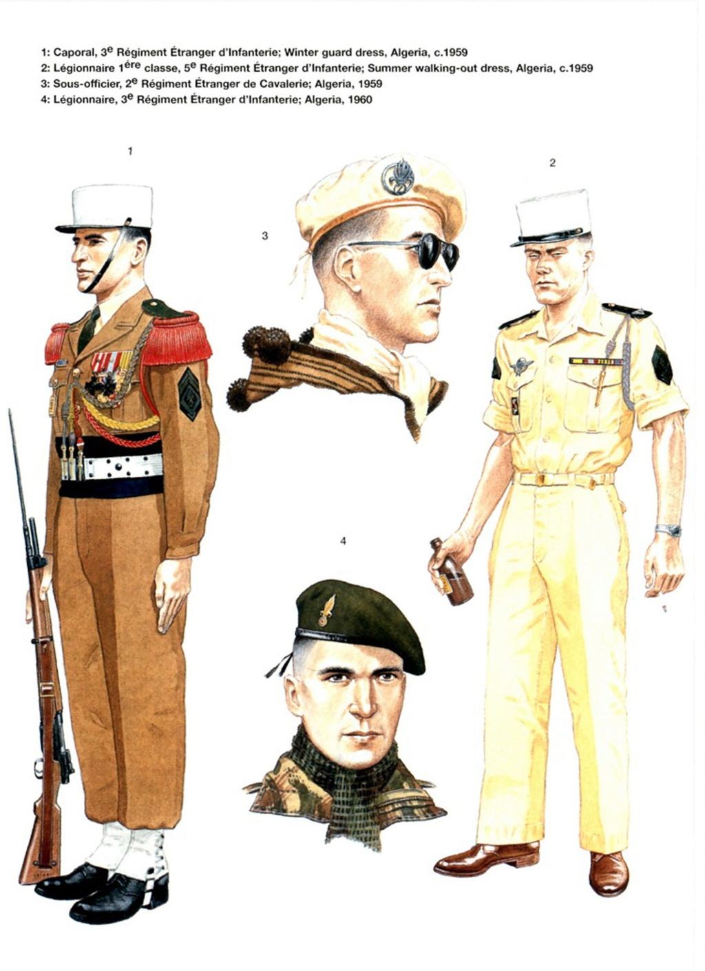 Planches uniformes Armée Française.... Legion32