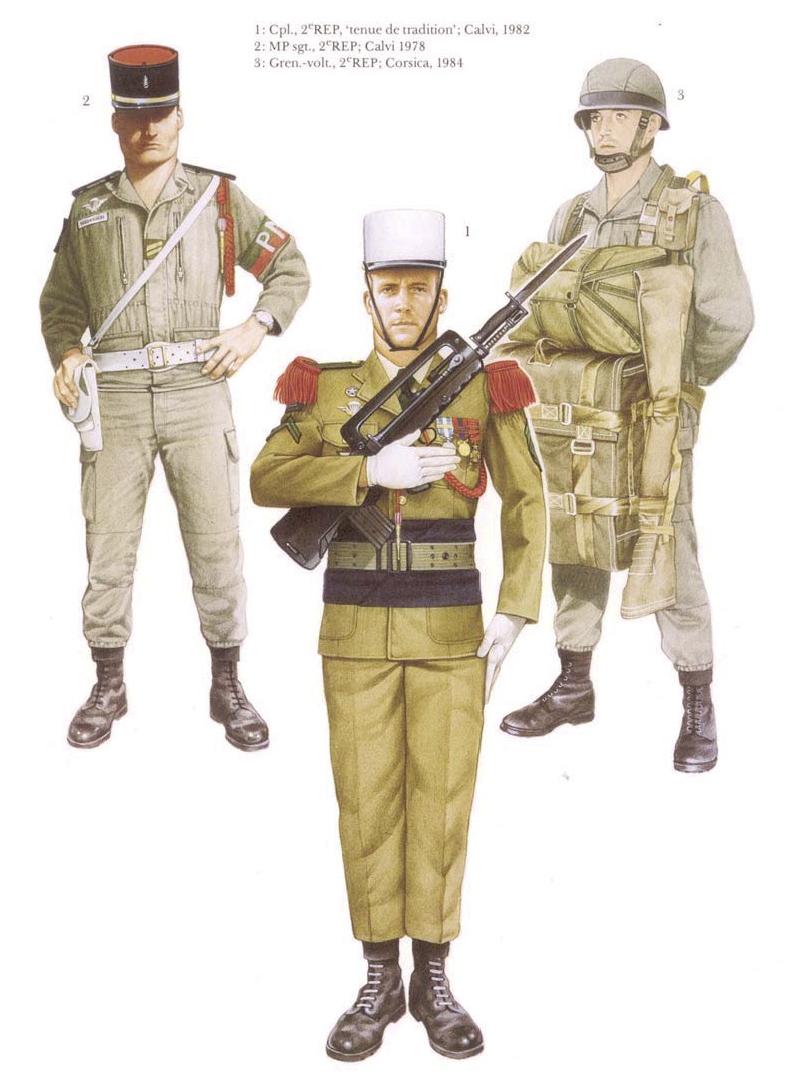 Planches uniformes Armée Française.... Legion33