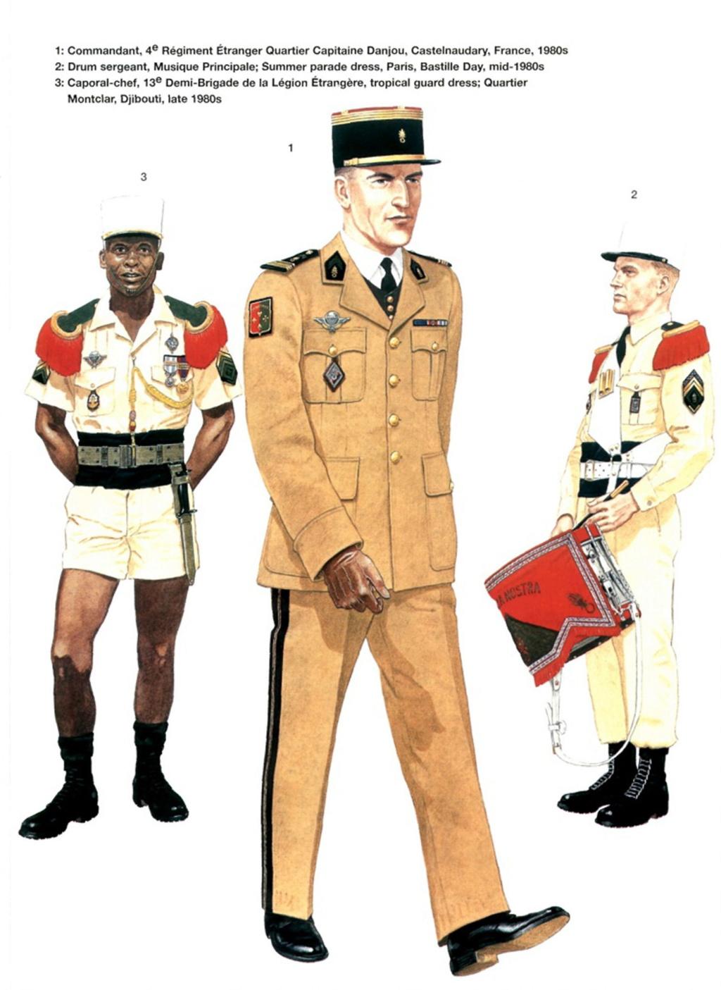 Planches uniformes Armée Française.... Legion34