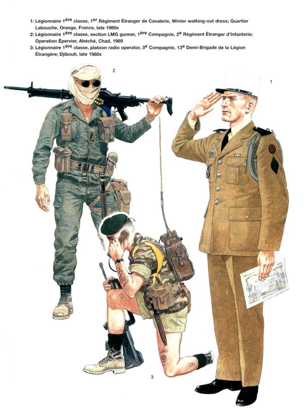 Planches uniformes Armée Française.... Legion35