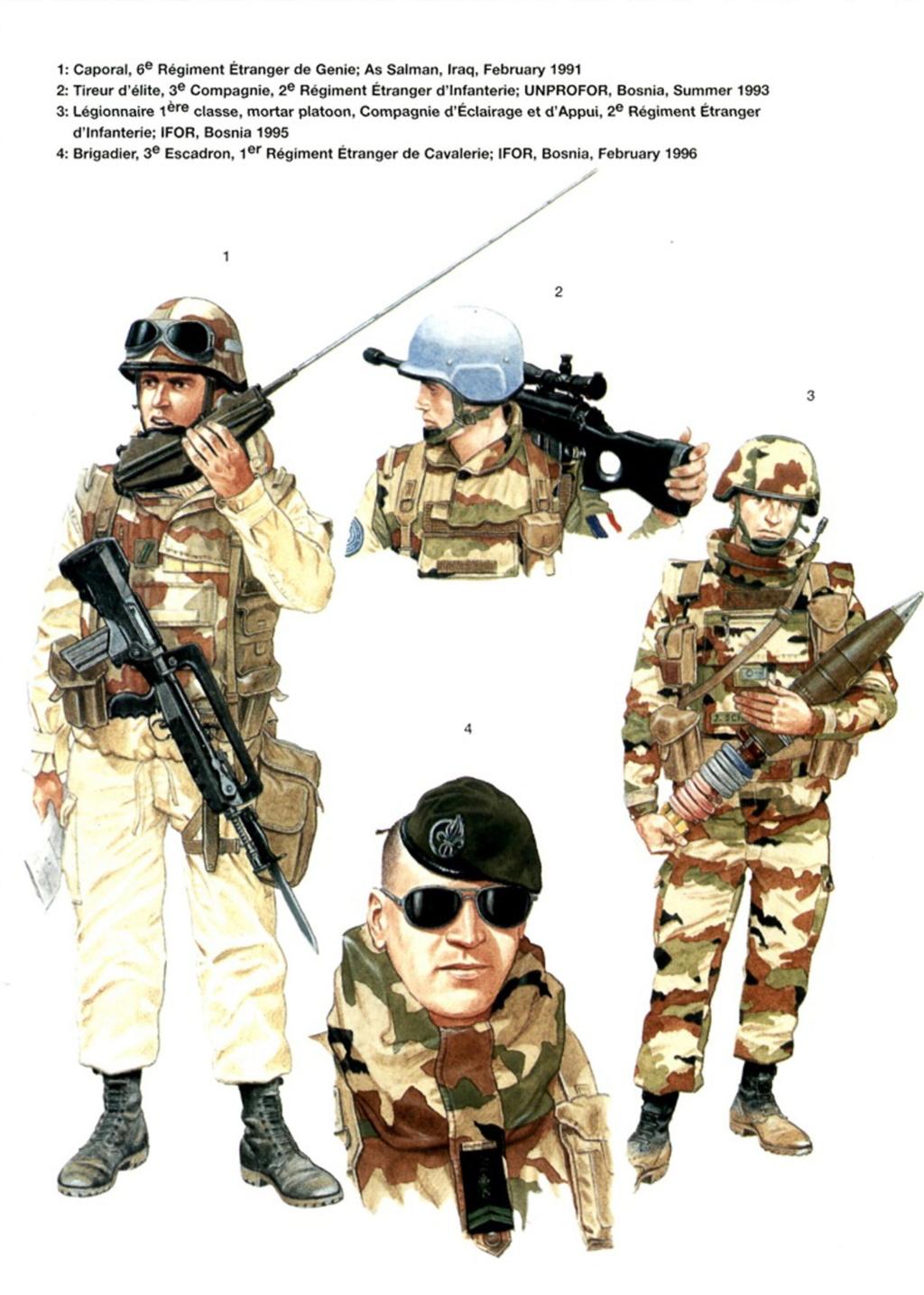 Planches uniformes Armée Française.... Legion39