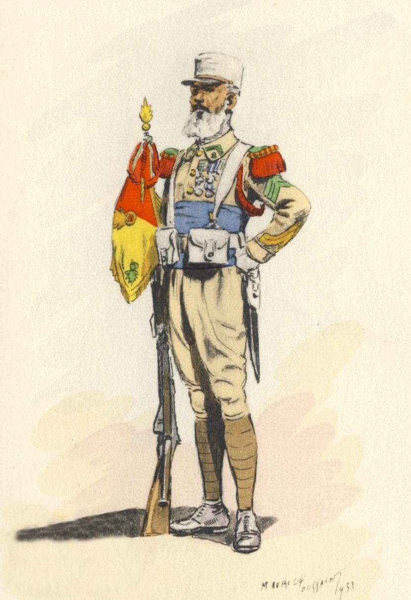 Planches uniformes Armée Française.... Legion40