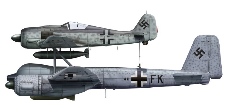 Junkers Mistel . Lm10