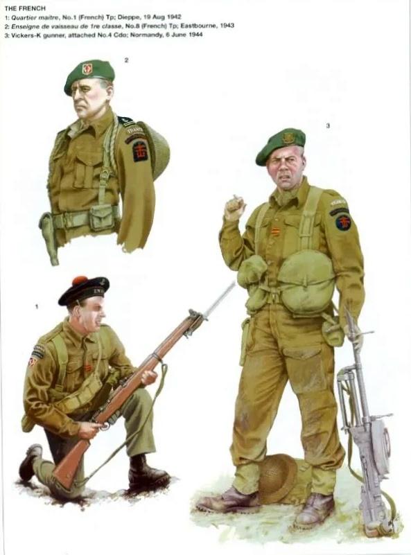 Planches uniformes Armée Française.... Marine31