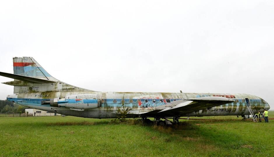 Sud-Est SE.210 Caravelle . Mjaxnz10