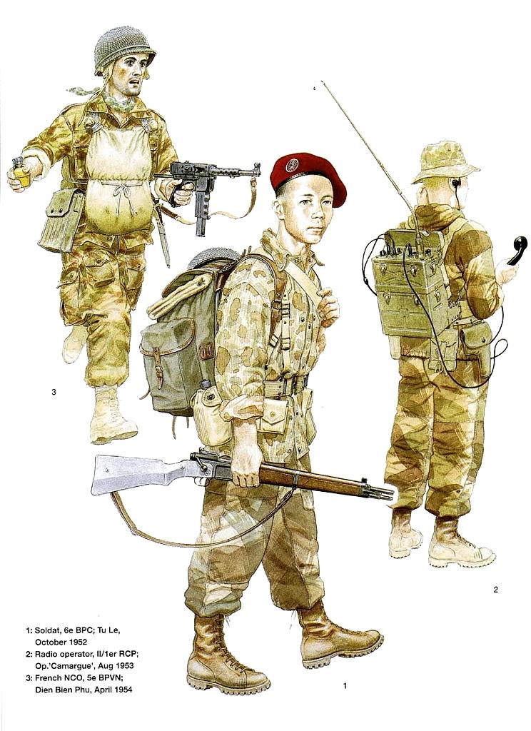 Planches uniformes Armée Française.... Parach13
