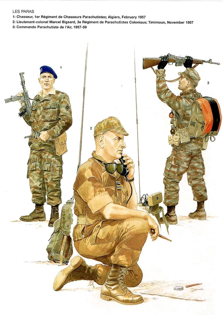 Planches uniformes Armée Française.... Parach20