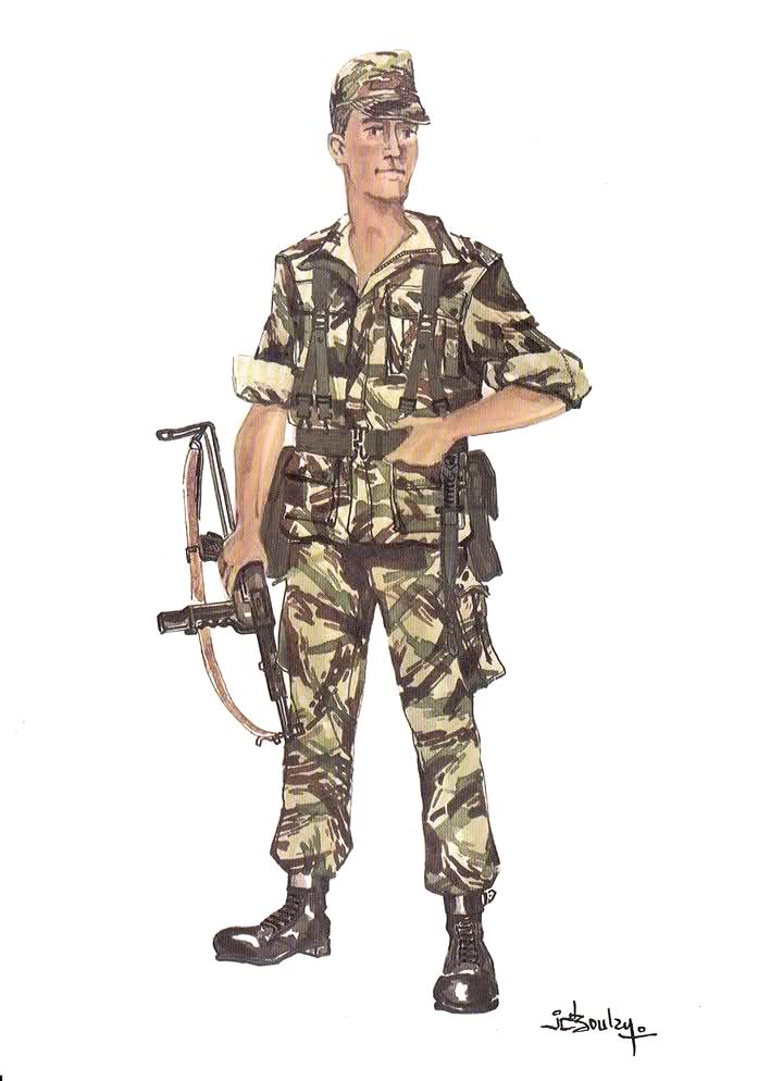 Planches uniformes Armée Française.... Parach23