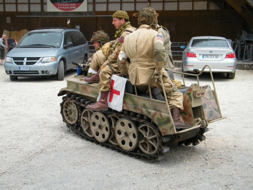 Le SdKfz 2, plus connu sous les noms de Kleines Kettenkraftrad HK 101 ou Kettenkrad . Photo_10