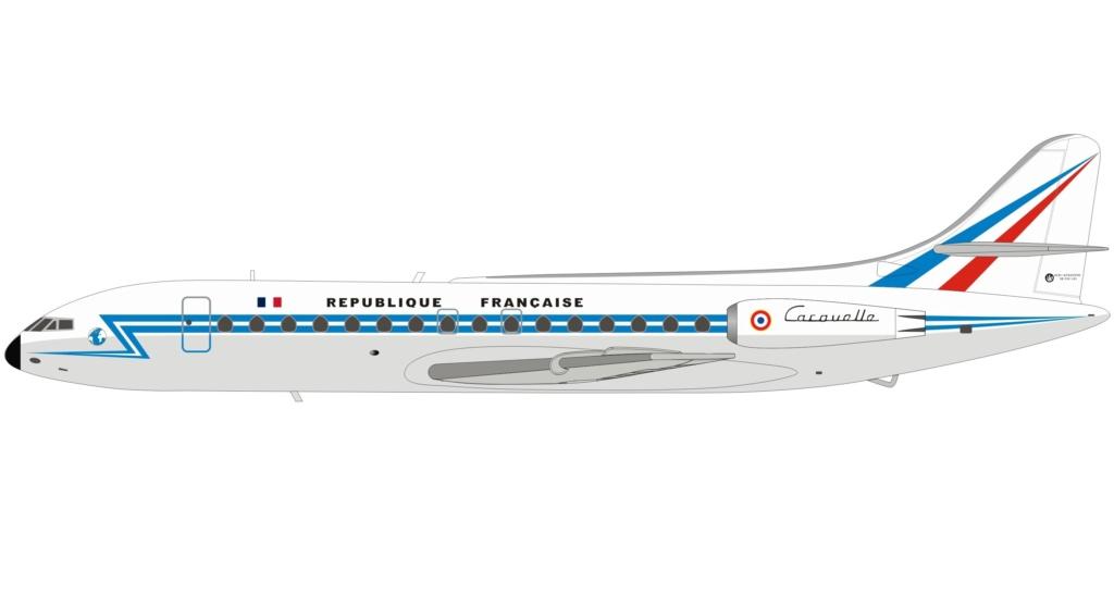 Sud-Est SE.210 Caravelle . Republ10
