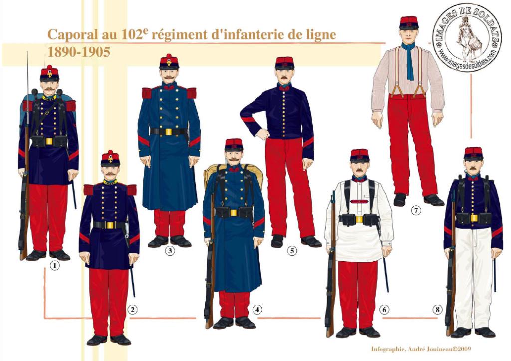 Planches uniformes Armée Française.... - Page 4 Sans_151