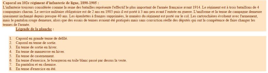 Planches uniformes Armée Française.... - Page 4 Sans_152