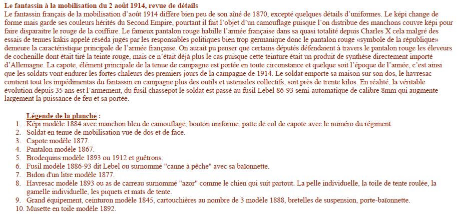 Planches uniformes Armée Française.... - Page 4 Sans_155