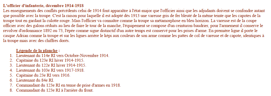 Planches uniformes Armée Française.... - Page 4 Sans_159