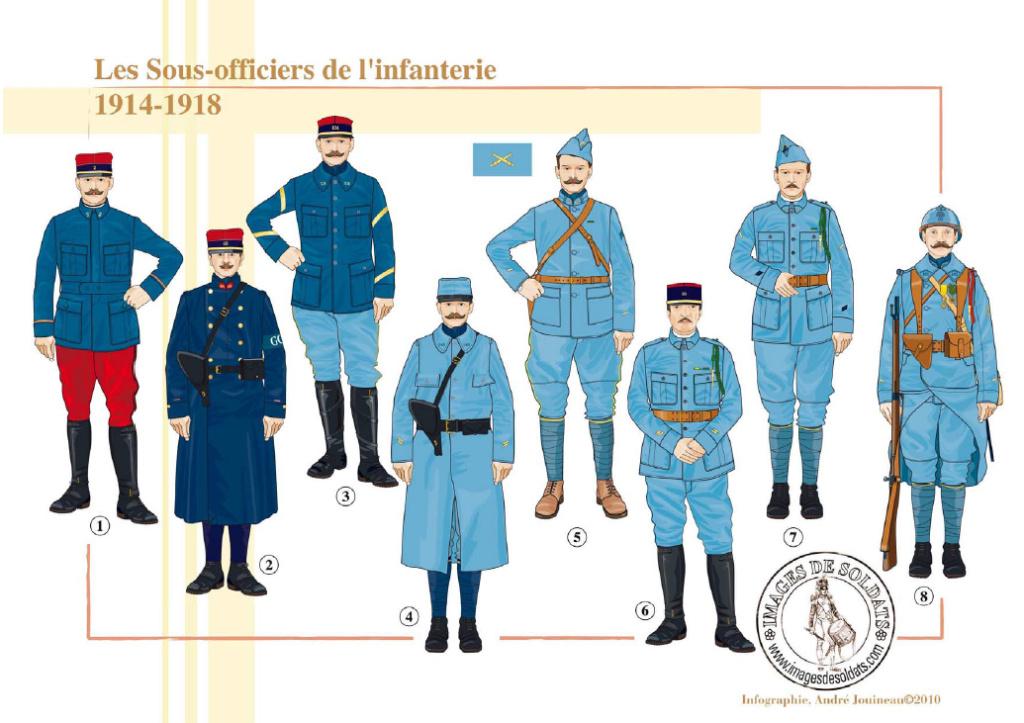 Planches uniformes Armée Française.... - Page 4 Sans_160
