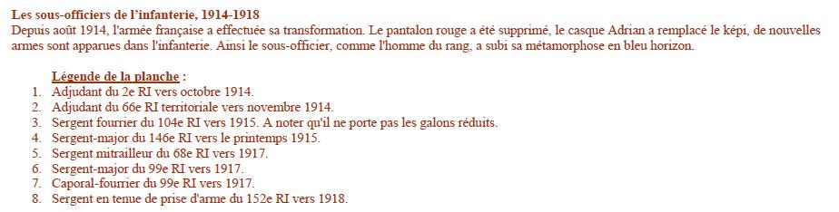 Planches uniformes Armée Française.... - Page 4 Sans_161