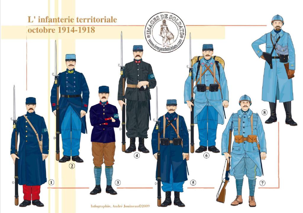 Planches uniformes Armée Française.... - Page 4 Sans_162