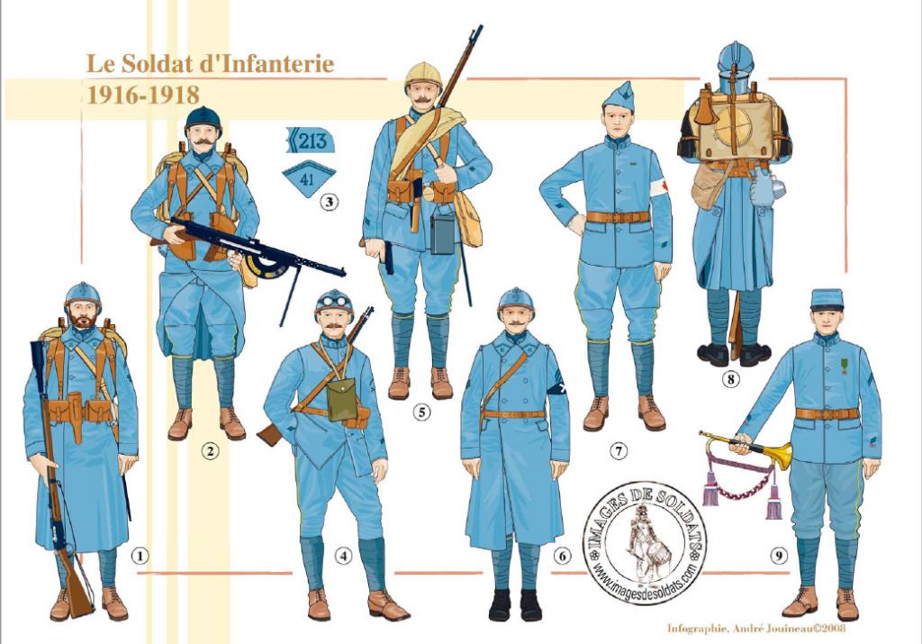 Planches uniformes Armée Française.... - Page 4 Sans_164