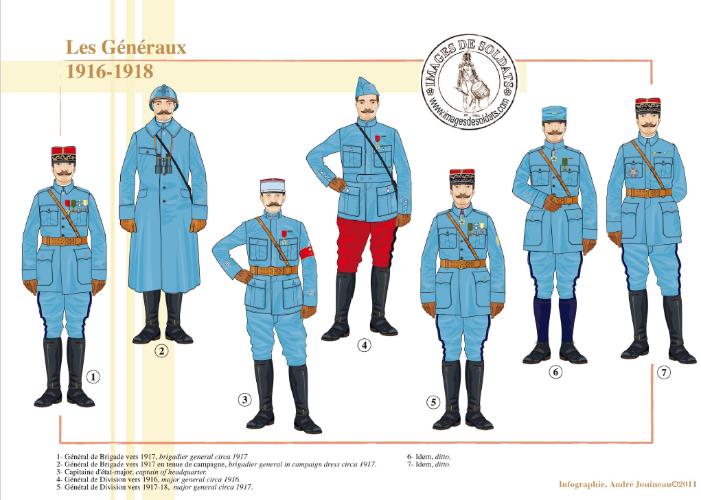 Planches uniformes Armée Française.... - Page 4 Sans_169