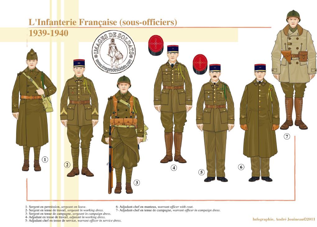 Planches uniformes Armée Française.... - Page 4 Sans_172
