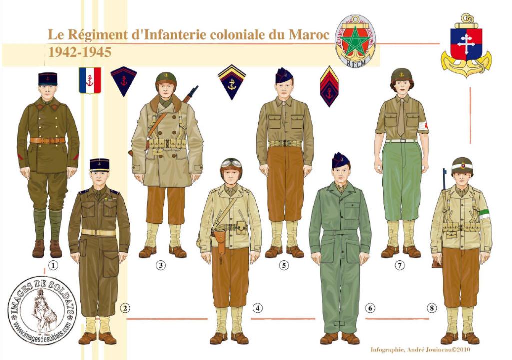 Planches uniformes Armée Française.... - Page 4 Sans_173
