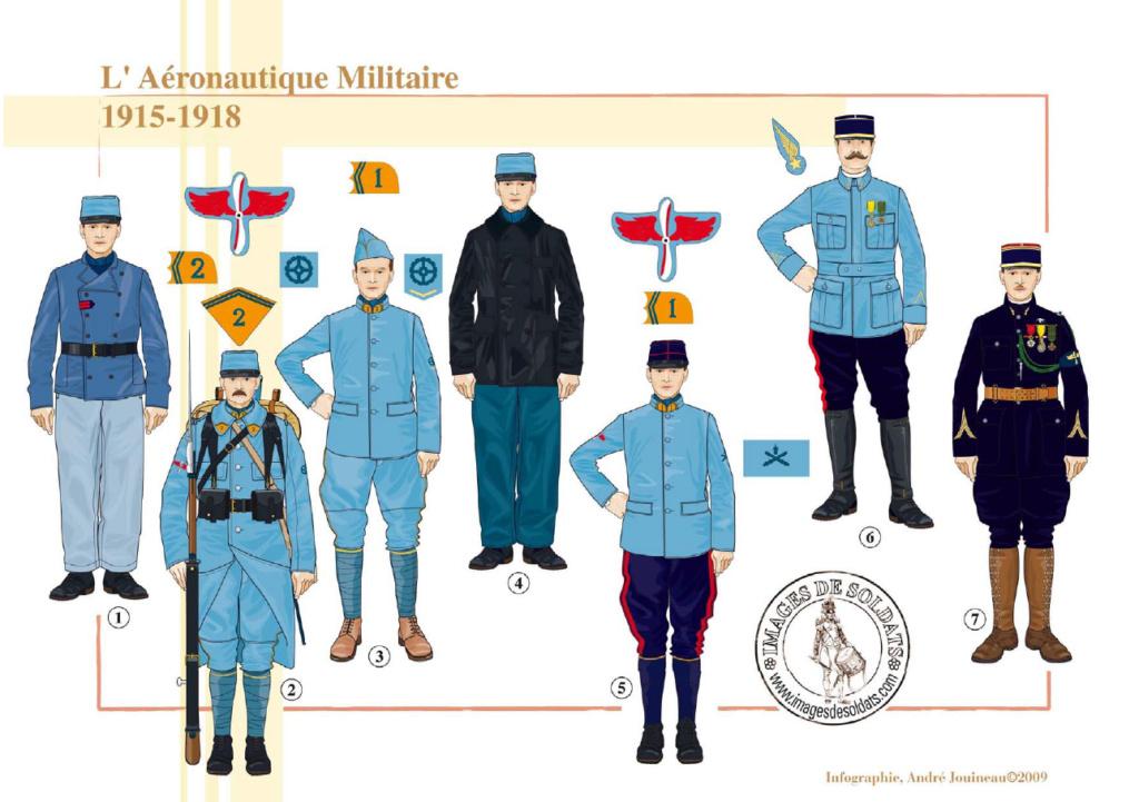 Planches uniformes Armée Française.... Sans_t31
