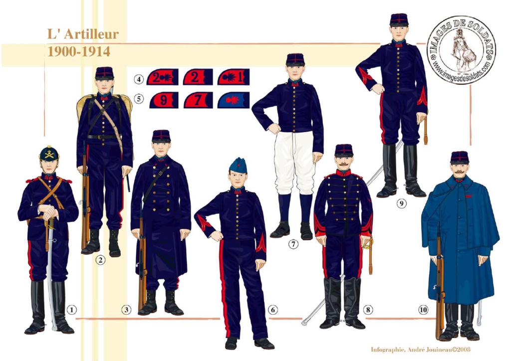 Planches uniformes Armée Française.... Sans_t70