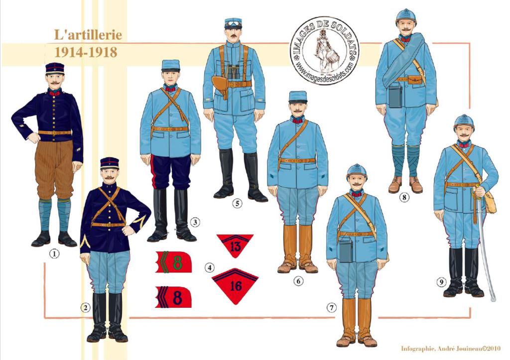 Planches uniformes Armée Française.... Sans_t72