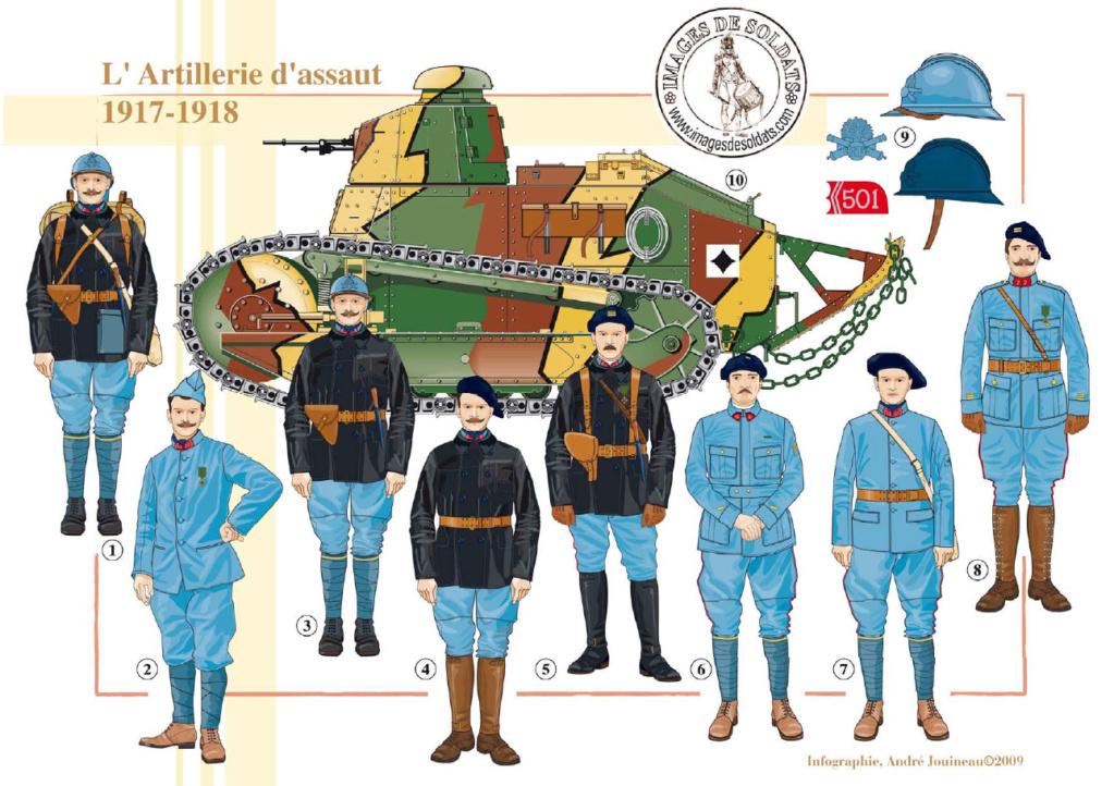 Planches uniformes Armée Française.... Sans_t74