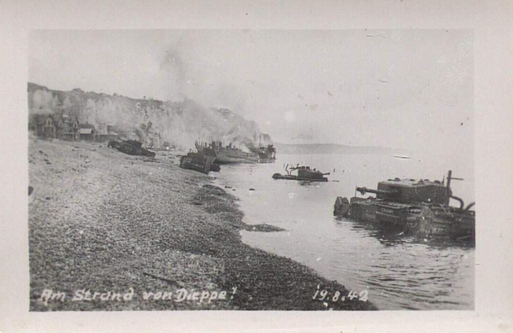 Opération. Jubilee - deux divisions Canadiennes a l'assaut de Dieppe  Screen51