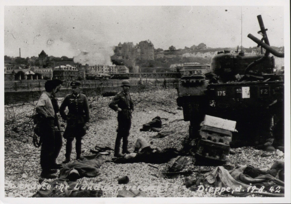 Opération. Jubilee - deux divisions Canadiennes a l'assaut de Dieppe  Screen61