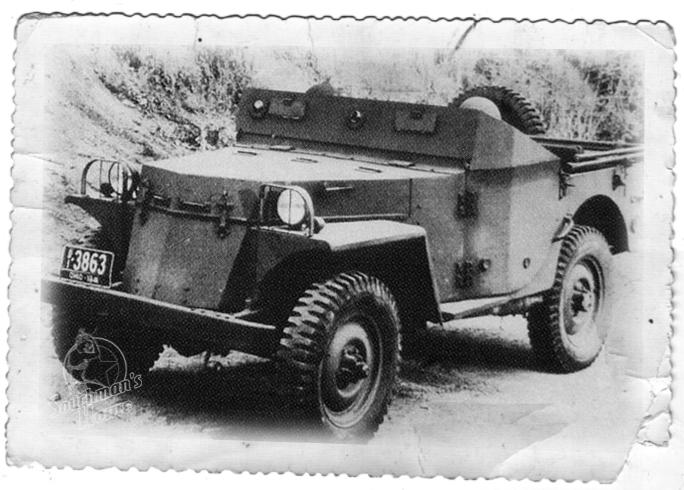 Un peloton original et peu connu :  Le peloton de jeeps blindées du 9ème escadron du 1er REC  (Laos - mai-novembre 1953) . T25_210