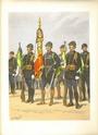 Planches uniformes Armée Française.... Chasse24