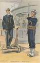 Planches uniformes Armée Française.... Marine19