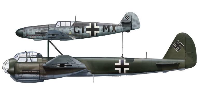 Junkers Mistel . W10