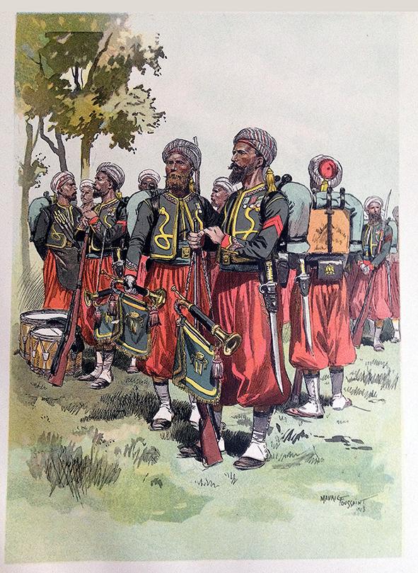 Planches uniformes Armée Française.... Zouave10