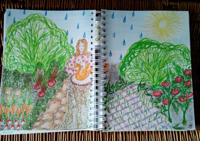 2019/06 - Dessiner Les Légumes  Lilou_11