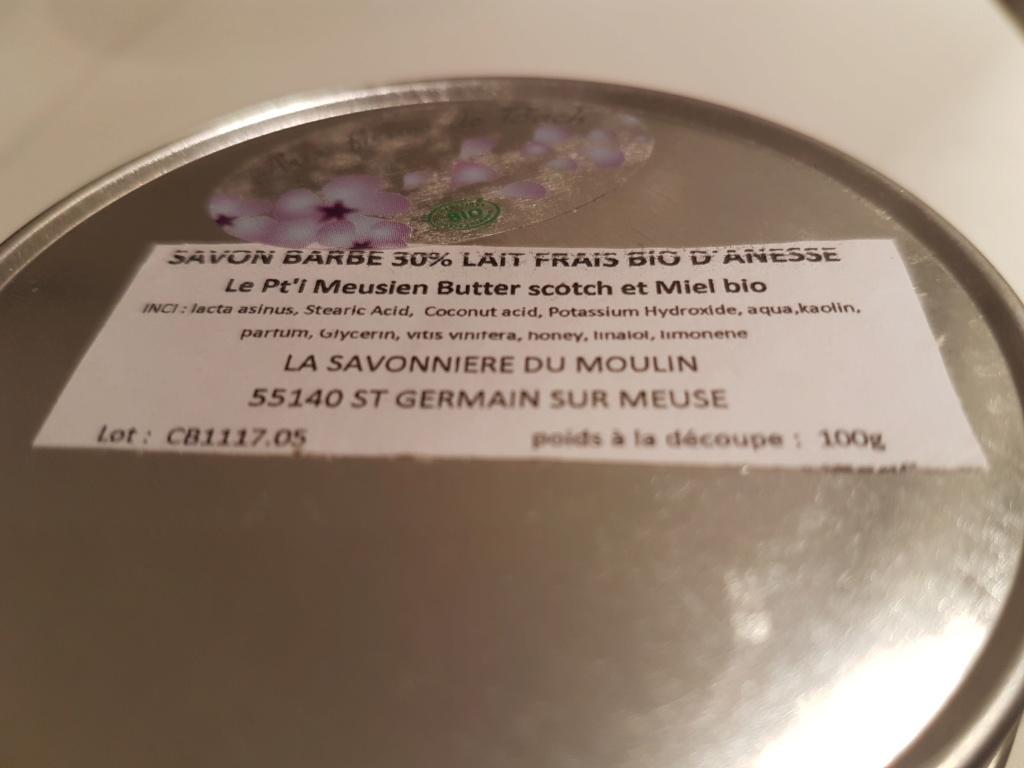 Le Pt'i Meusien - savon à barbe au lait d'ânesse - Page 3 20190413