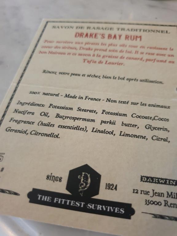 Drake's bay rum. Le nouveau Darwin par le père Lucien 20200222