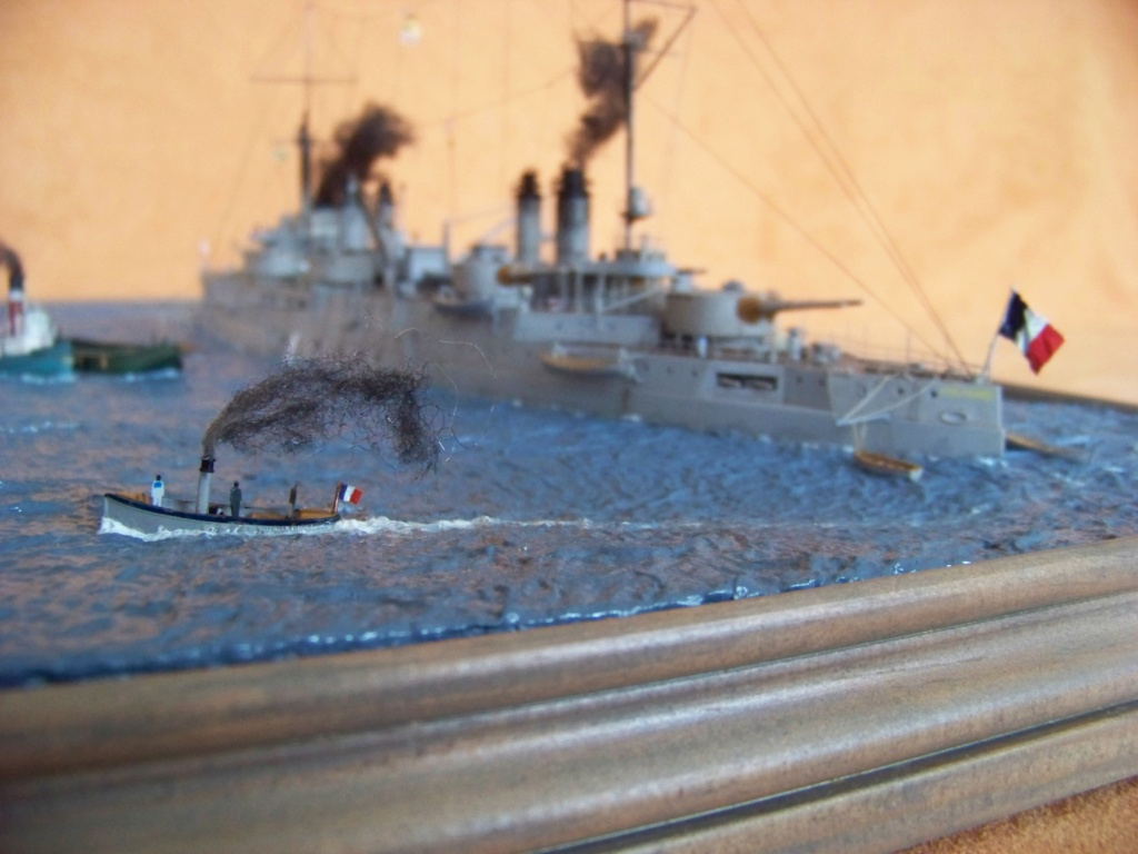 Cuirassé Voltaire, Hobby Boss 1/350 diorama terminé. - Page 2 100_9934