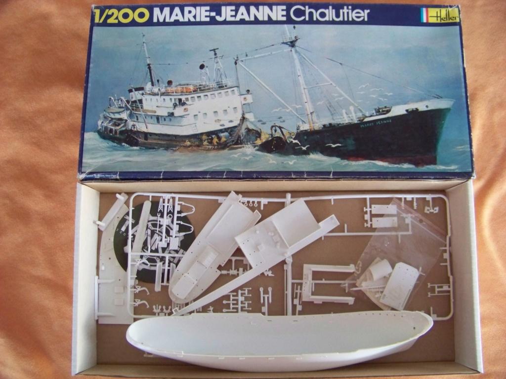 Ouverture de boite morutier Le Volontaire Heller 1/200. 100_9964