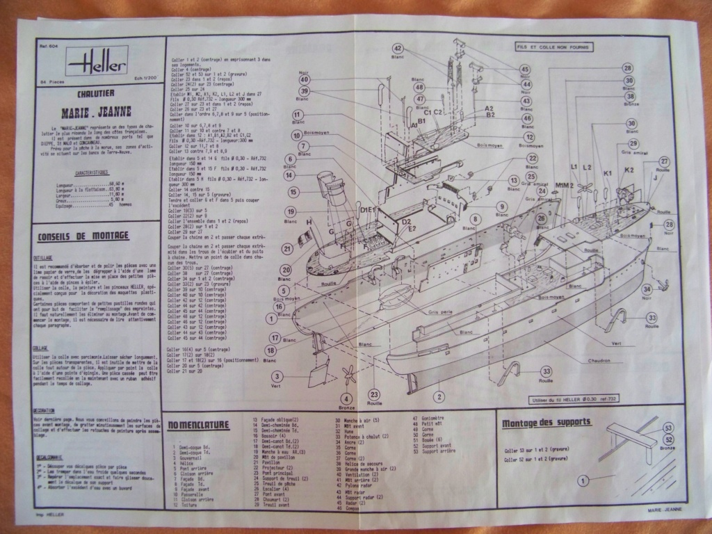 Ouverture de boite morutier Le Volontaire Heller 1/200. 100_9965
