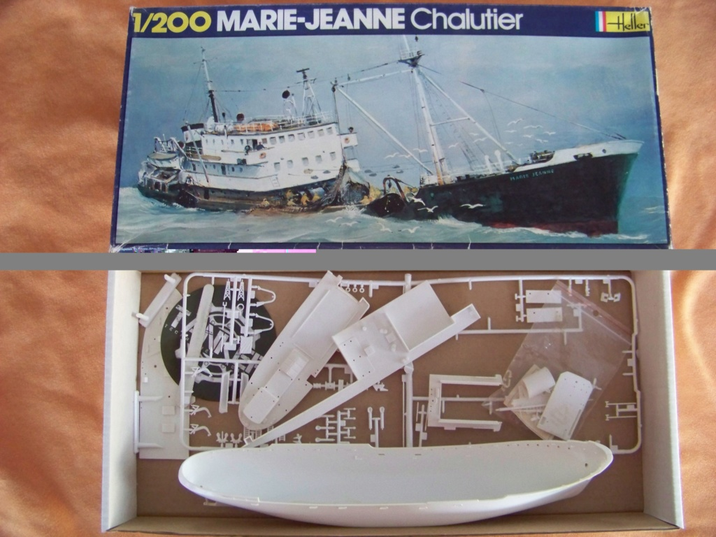 Chalutier morutier Volontaire 1/200 Heller 100_9983